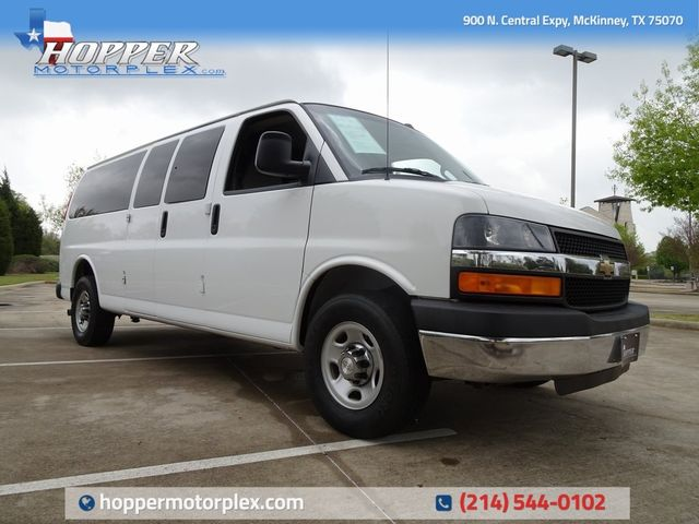 2016 Chevrolet Express 3500 LT Passenger in McKinney, Texas 75070