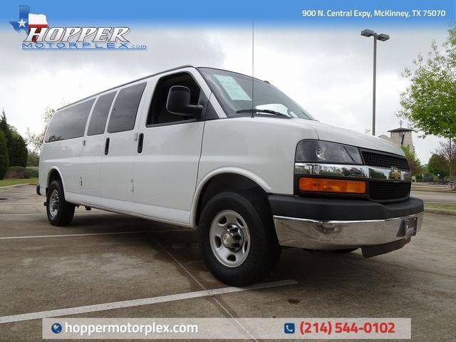 2016 Chevrolet Express 3500 LT 15 Passenger