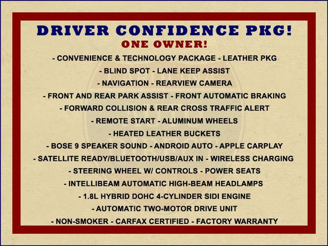 2016 Chevrolet Malibu Hybrid FWD- LEATHER, DRIVER CONFIDENCE  PKGS! Mooresville , NC 1