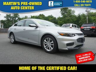2016 Chevrolet Malibu LT in Whitman, MA 02382