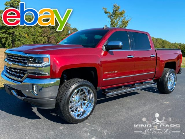 "2016 Chevrolet Silverado 1500 4X4 LTZ ONLY 58K MILES MINT 22"" WHEELS"