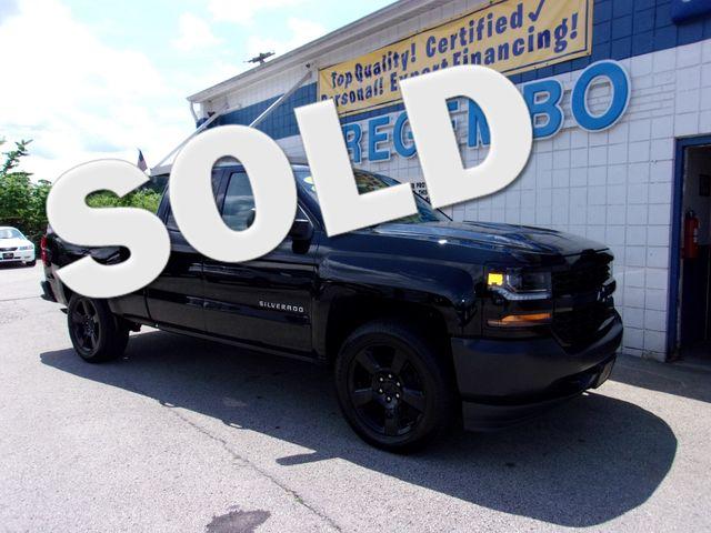 2016 Chevrolet Silverado 1500 4x4 WT Black Out Edtn