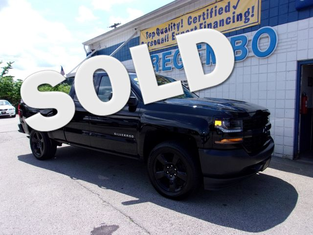 2016 Chevrolet Silverado 1500 4x4 2WT Black Out Edtn