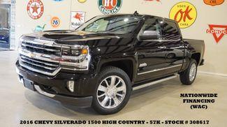 2016 Chevrolet Silverado 1500 High Country 4X2 NAV,HTD/COOL LTH,CHROME 20'S,57K in Carrollton TX, 75006