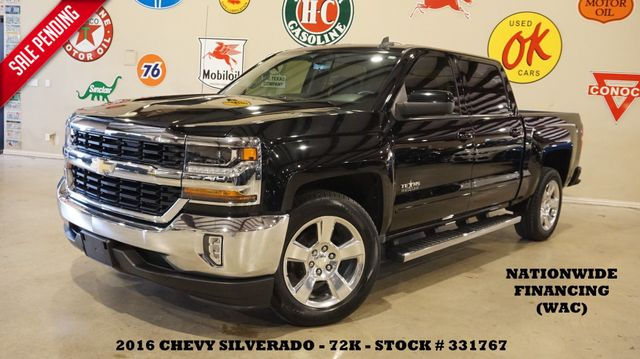 2016 Chevrolet Silverado 1500 LT TX EDITION BACK-UP CAM,HTD LTH,20'S,72K