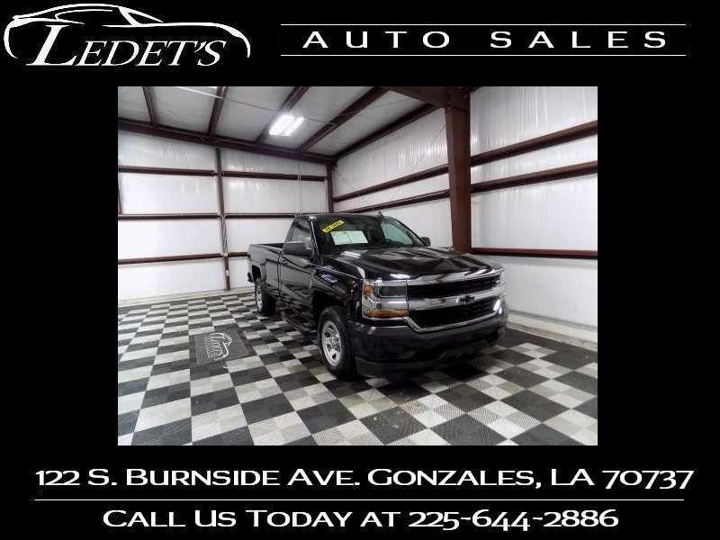 2016 Chevrolet Silverado 1500 Work Truck - Ledet's Auto Sales Gonzales_state_zip in Gonzales Louisiana