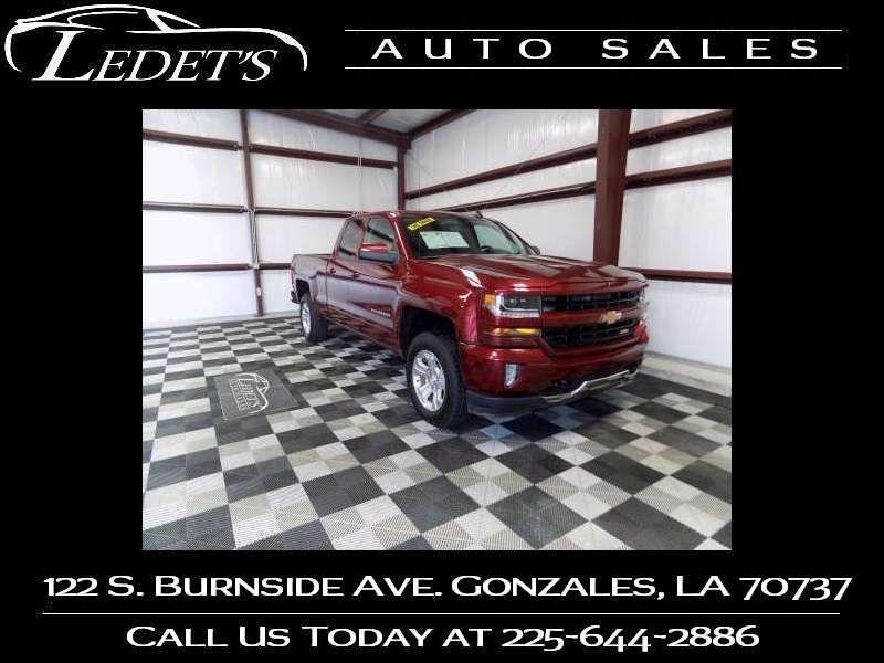 2016 Chevrolet Silverado 1500 LT - Ledet's Auto Sales Gonzales_state_zip in Gonzales Louisiana