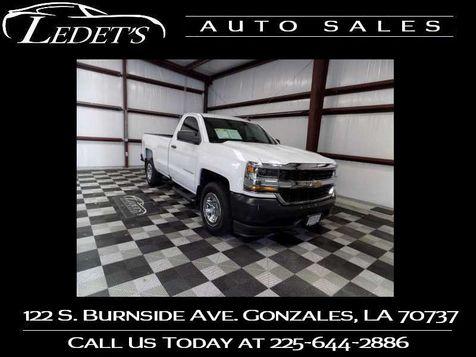 2016 Chevrolet Silverado 1500 Work Truck - Ledet's Auto Sales Gonzales_state_zip in Gonzales, Louisiana