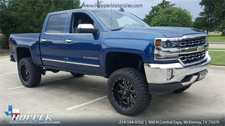2016 Chevrolet Silverado 1500 LTZ LIFTED W/CUSTOM WHEELS AND TIRES in McKinney Texas, 75070