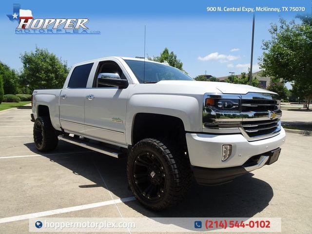 2016 Chevrolet Silverado 1500 High Country w/ Lift Kit, Custom Wheels & Tires