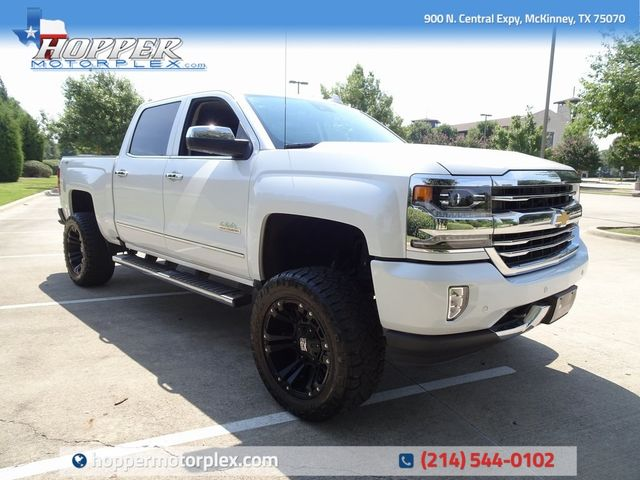 2016 Chevrolet Silverado 1500 High Country w/ Lift Kit, Custom Wheels & Tires