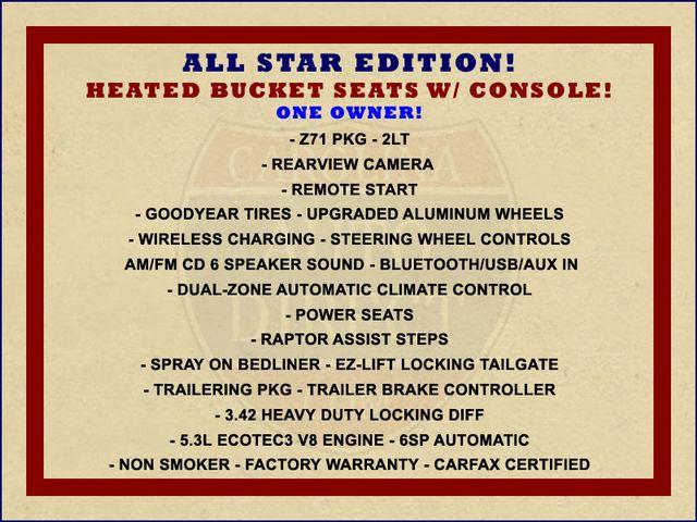 2016 Chevrolet Silverado 1500 LT/2LT Crew Cab 4x4 Z71 - HEATED BUCKET SEATS! Mooresville , NC 1