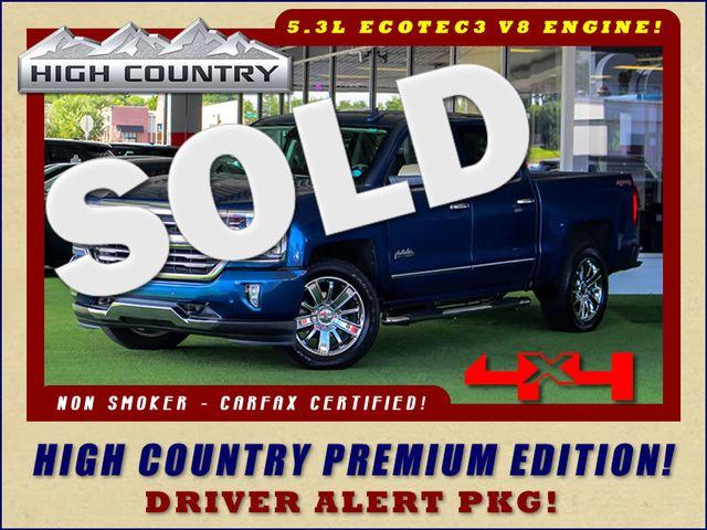 2016 Chevrolet Silverado 1500 HIGH COUNTRY PREMIUM PKG 4X4 - DRIVER ALERT PKG! Mooresville , NC