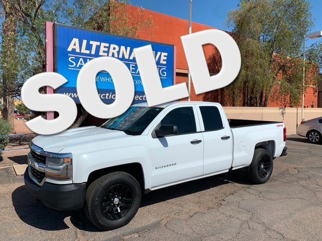 2016 Chevrolet Silverado 1500 W/T 4X4 3 MONTH/3,000 MILE NATIONAL POWERTRAIN WARRANTY Mesa, Arizona