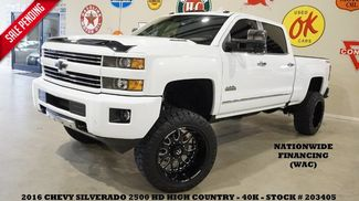 2016 Chevrolet Silverado 2500HD High Country 4X4 LIFTED,NAV,22IN FUEL WHLS,40K! in Carrollton TX, 75006