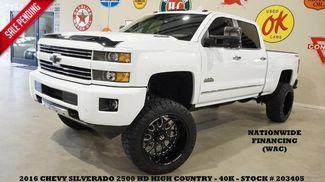 2016 Chevrolet Silverado 2500HD High Country 4X4 LIFTED,NAV,22IN FUEL WHLS,40K! in Carrollton TX, 75006