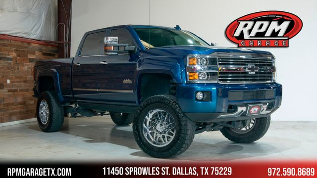 2016 Chevrolet Silverado 2500HD High Country Lifted with Many Upgrades in Dallas, TX 75229