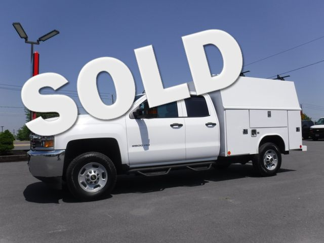 2016 Chevrolet Silverado 2500HD Double Cab 2wd with 8' Reading Enclosed Utility  in Lancaster, PA PA
