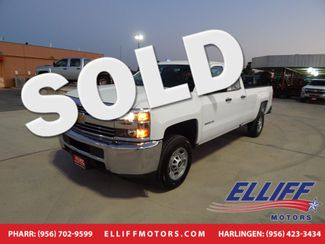2016 Chevrolet Silverado 2500HD Work Truck in Harlingen TX, 78550