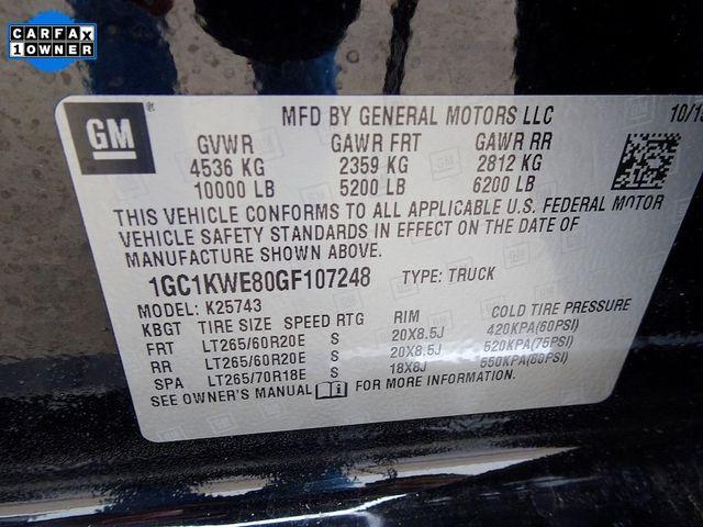 2016 Chevrolet Silverado 2500HD LTZ Madison, NC 58
