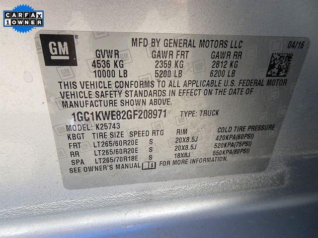 2016 Chevrolet Silverado 2500HD LTZ Madison, NC 56