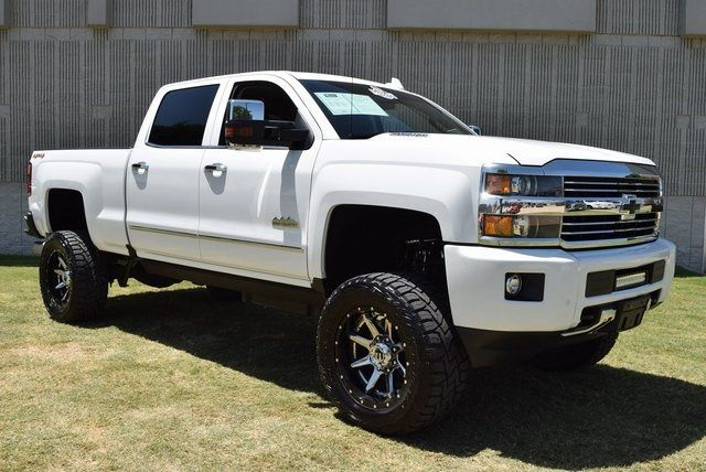 2016 Chevrolet Silverado 2500HD High Country LIFTED W/ CUSTOM TIRES AND WHEELS