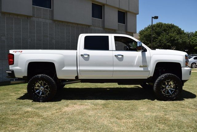 2016 Chevrolet Silverado 2500HD High Country LIFTED W/ CUSTOM TIRES AND WHEELS in McKinney Texas, 75070