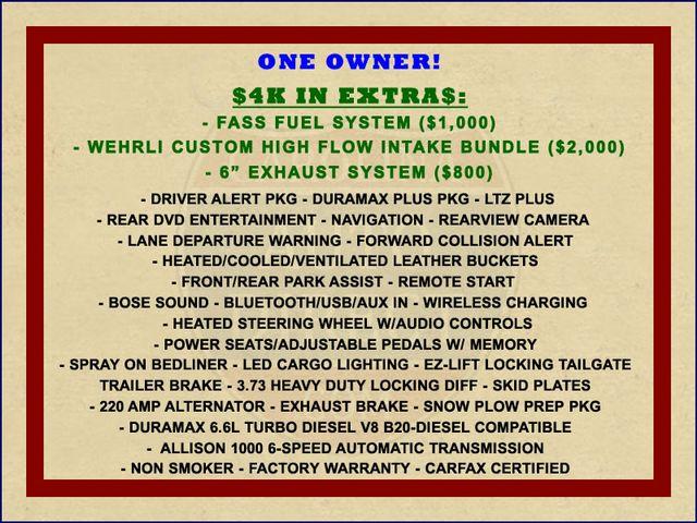 2016 Chevrolet Silverado 2500HD LTZ PLUS Crew Cab 4x4 - DRIVER ALERT - EXTRA$! Mooresville , NC 1