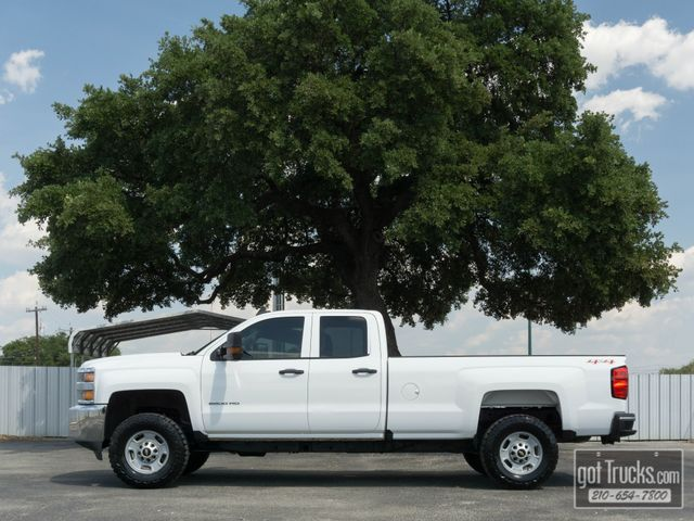 2016 Chevrolet Silverado 2500HD Extended Cab Work Truck 6.0L V8 4X4