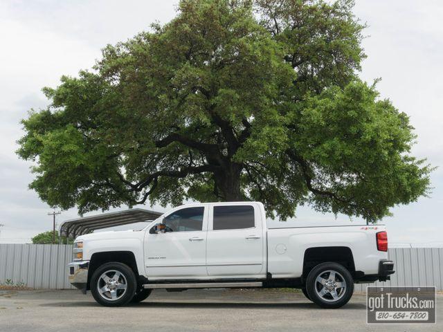 2016 Chevrolet Silverado 2500HD Crew Cab LTZ 6.6L Duramax Turbo Diesel 4X4