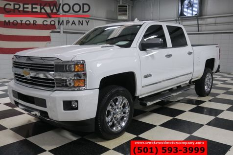 2016 Chevrolet Silverado 2500HD High Country 4x4 Diesel White Nav Chrome 20s CLEAN in Searcy, AR