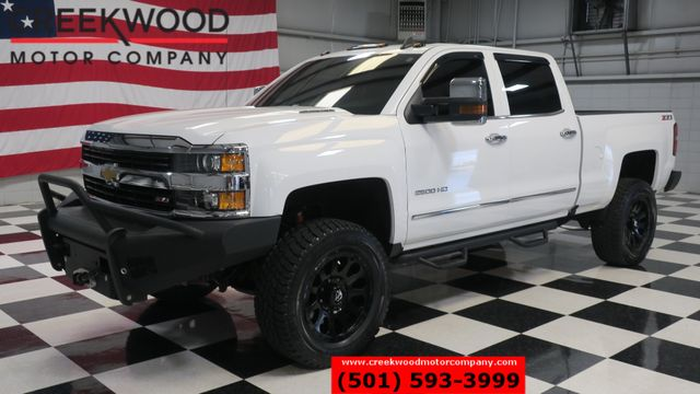 2016 Chevrolet Silverado 2500HD LTZ 4x4 Z71 Diesel White Lifted Nav 20s New Tires in Searcy, AR 72143