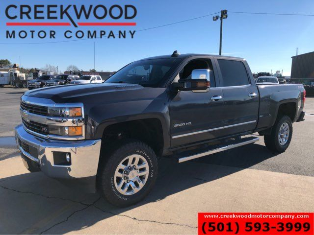 2016 Chevrolet Silverado 2500HD LTZ 4x4 Z71 Diesel Allison 1 Owner Nav Roof Chrome