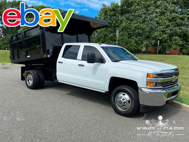 2016 Chevrolet Silverado 3500 4X4 CREW LANDSCAPE DUMP ONLY 58K MILES in Woodbury, New Jersey 08093