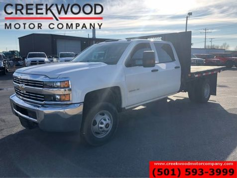 2016 Chevrolet Silverado 3500HD W/T LT 4x4 Diesel Allison Dually Utility Flatbed in Searcy, AR