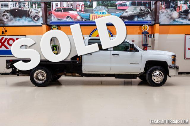 2016 Chevrolet Silverado 3500HD 4X4 Flatbed Work Truck in Addison, Texas 75001