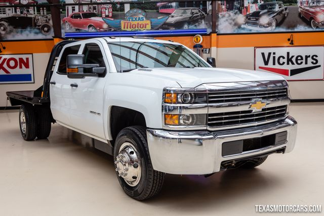 2016 Chevrolet Silverado 3500HD 4X4 Flatbed Work Truck in Addison, Texas 75001