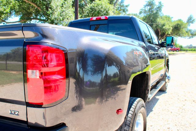2016 Chevrolet Silverado 3500HD LTZ Crew Cab 4x4 6.6L Duramax Diesel Allison Auto Sealy, Texas 10
