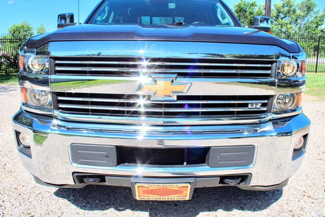 2016 Chevrolet Silverado 3500HD LTZ Crew Cab 4x4 6.6L Duramax Diesel Allison Auto Sealy, Texas 13
