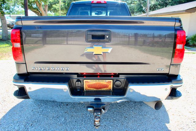 2016 Chevrolet Silverado 3500HD LTZ Crew Cab 4x4 6.6L Duramax Diesel Allison Auto Sealy, Texas 18