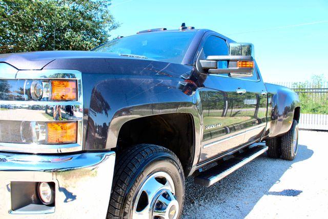2016 Chevrolet Silverado 3500HD LTZ Crew Cab 4x4 6.6L Duramax Diesel Allison Auto Sealy, Texas 4