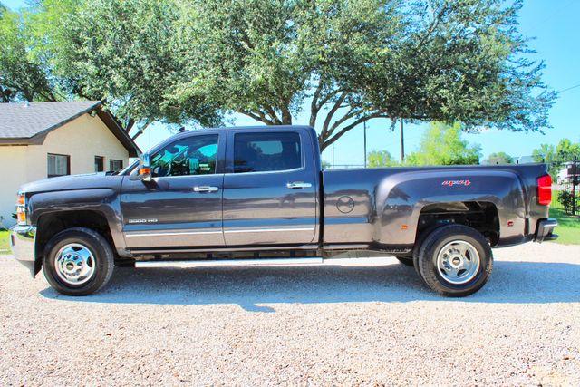 2016 Chevrolet Silverado 3500HD LTZ Crew Cab 4x4 6.6L Duramax Diesel Allison Auto Sealy, Texas 6