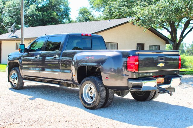 2016 Chevrolet Silverado 3500HD LTZ Crew Cab 4x4 6.6L Duramax Diesel Allison Auto Sealy, Texas 7