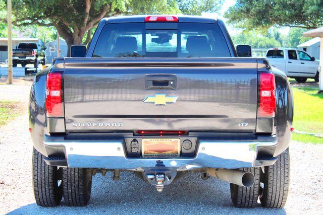 2016 Chevrolet Silverado 3500HD LTZ Crew Cab 4x4 6.6L Duramax Diesel Allison Auto Sealy, Texas 9