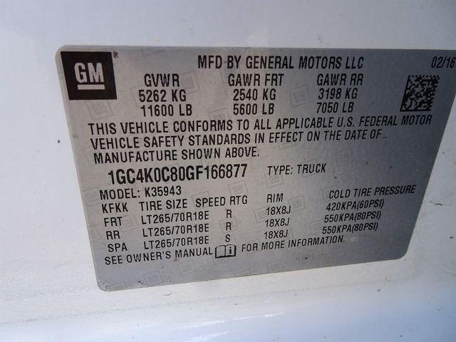 2016 Chevrolet Silverado 3500HD LTZ Madison, NC 54