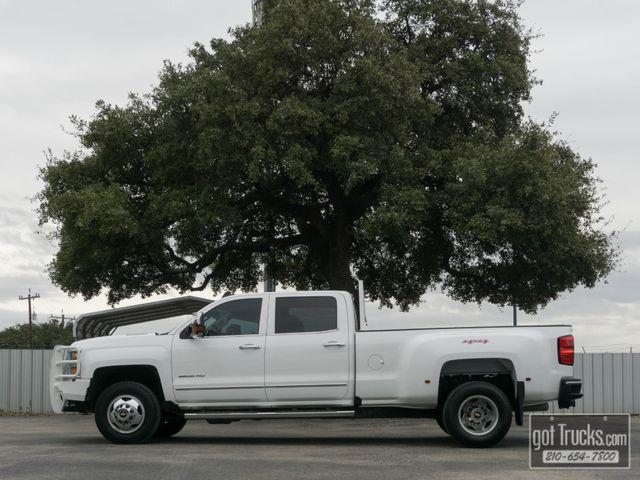 2016 Chevrolet Silverado 3500HD Crew Cab LTZ 6.6L Duramax Turbo Diesel 4X4