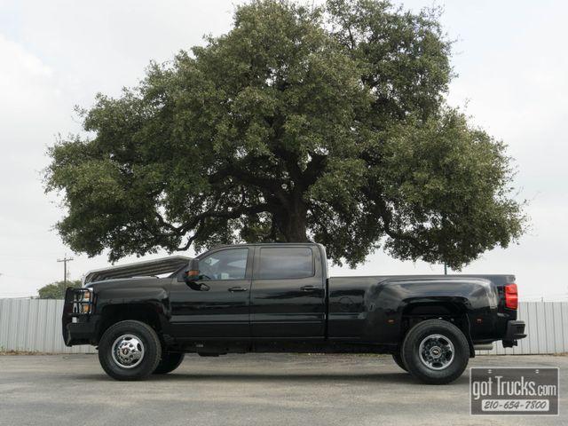 2016 Chevrolet Silverado 3500HD Crew Cab LT 6.6L Duramax turbo Diesel 4X4 in San Antonio, Texas 78217