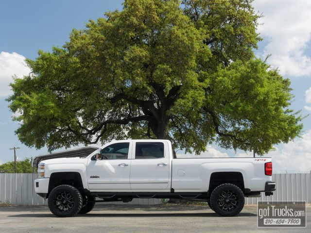 2016 Chevrolet Silverado 3500HD Crew Cab High Country 6.6L Duramax Turbo Diesel 4X