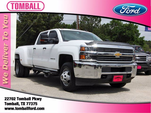 2016 Chevrolet Silverado 3500HD Work Truck in Tomball, TX 77375