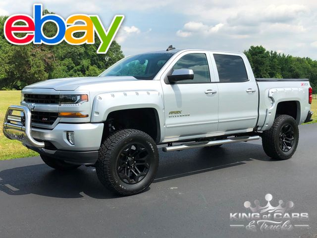 2016 Chevrolet Silverado Apex EDITION 1500 CREW 4X4 Z71 LIFTED 49K MILE MINT